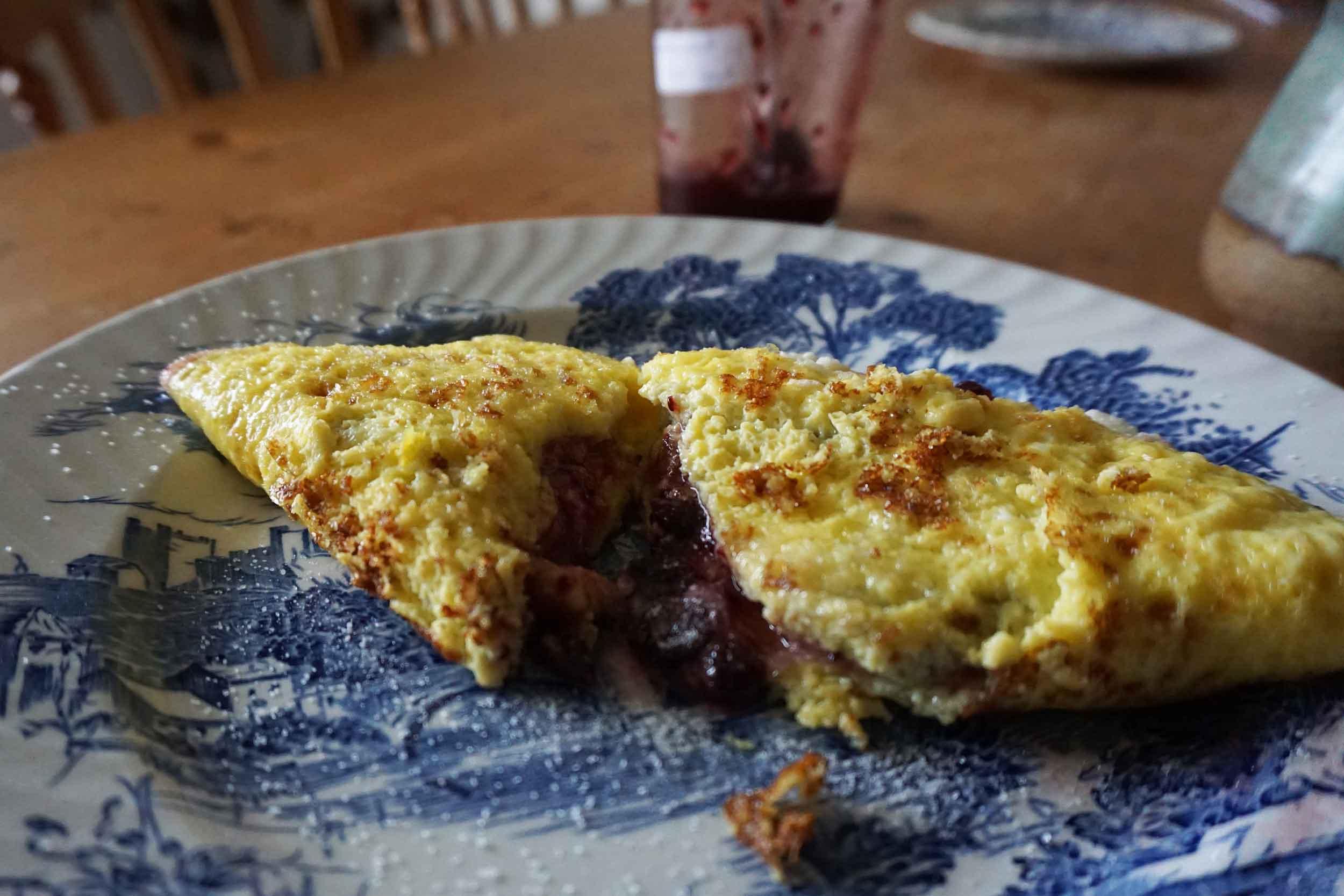 jam omelette