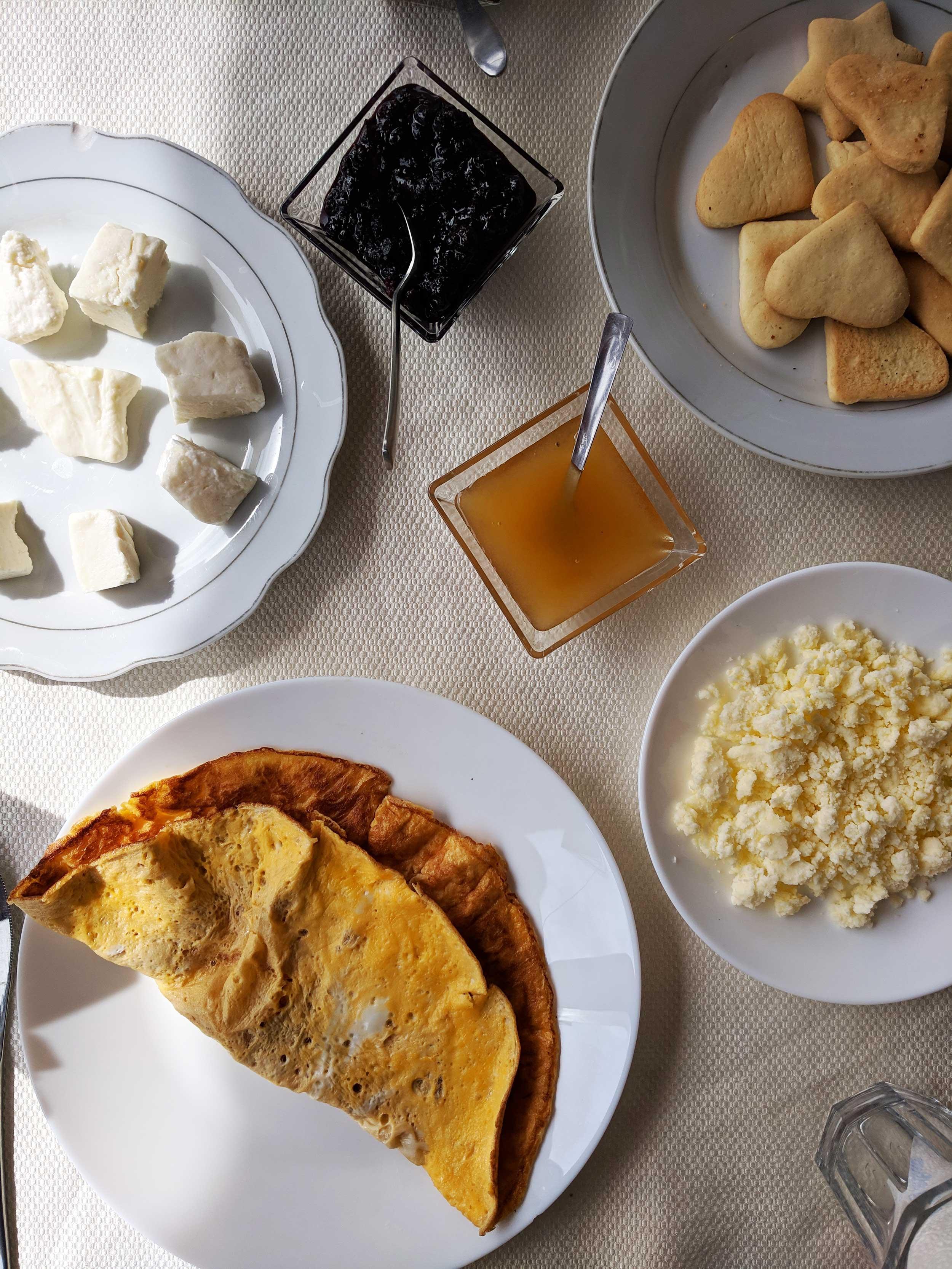 albania breakfast cheese