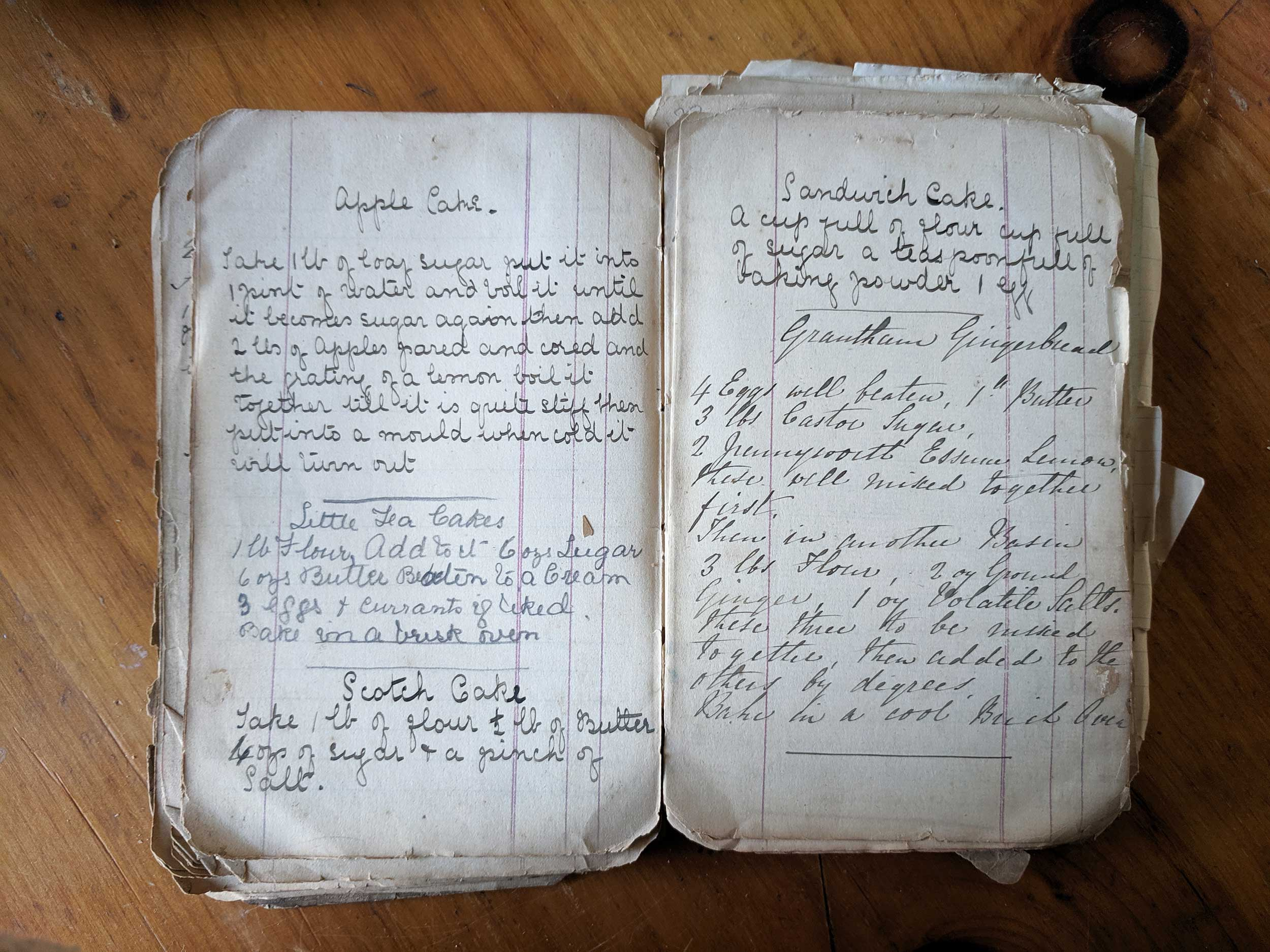 old english recipe book