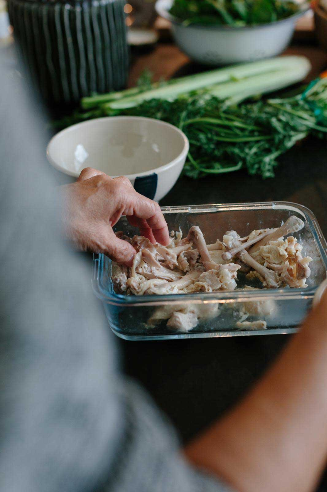 chicken bones chicken wings stock recipe waste free recipes zero waste